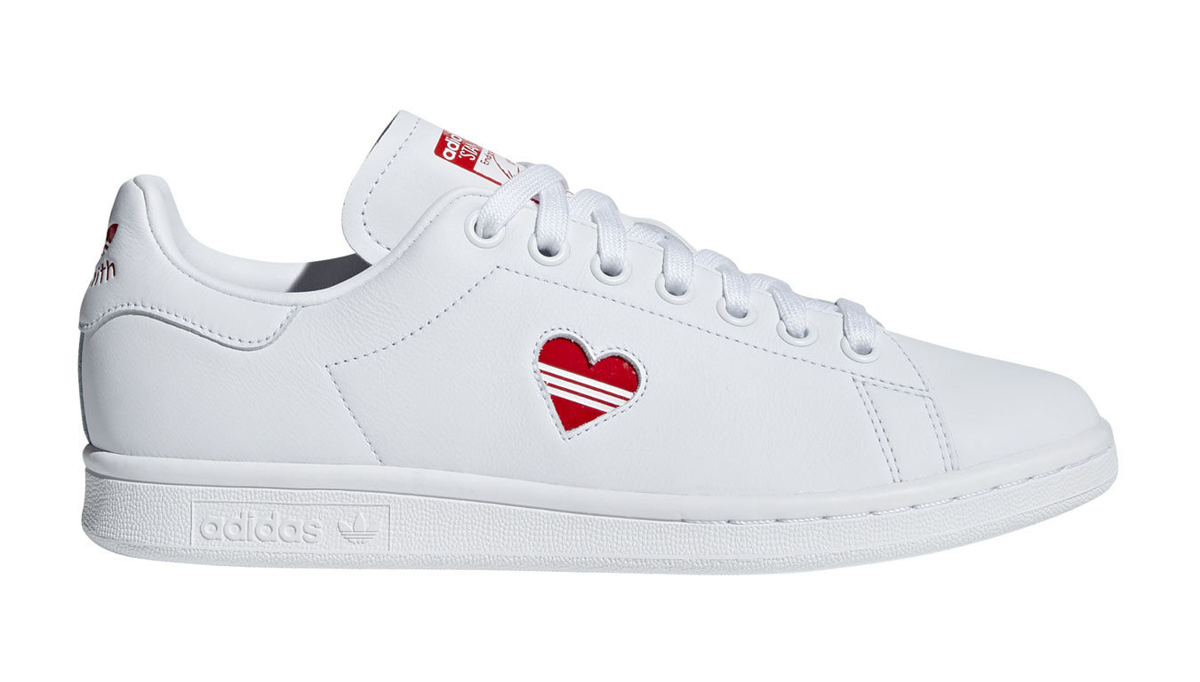 Adidas Stan Smith W Ftwr White Active Red Ftwr White