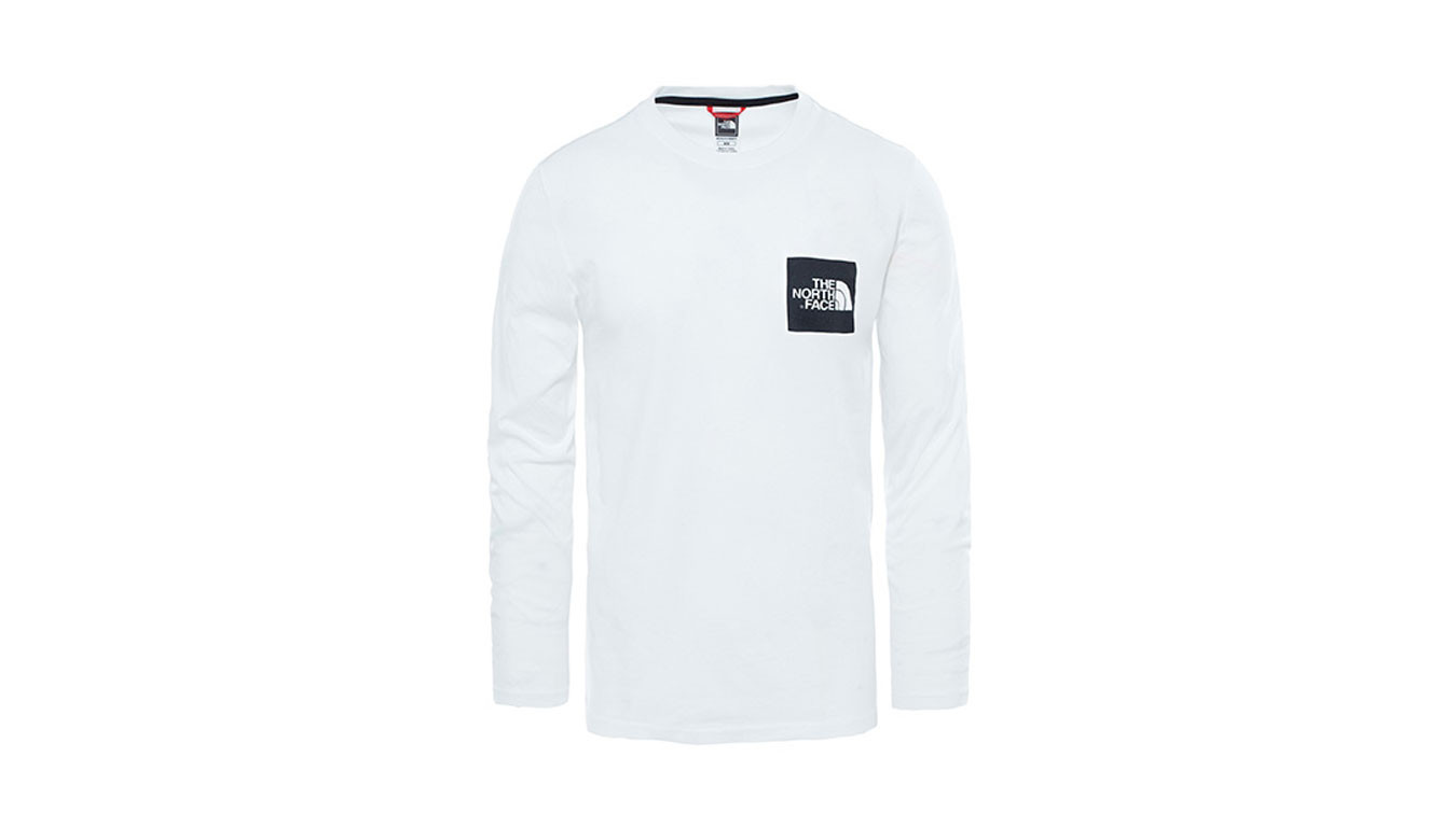 The North Face Longsleeve Fine Tee Tnf White | Footshop